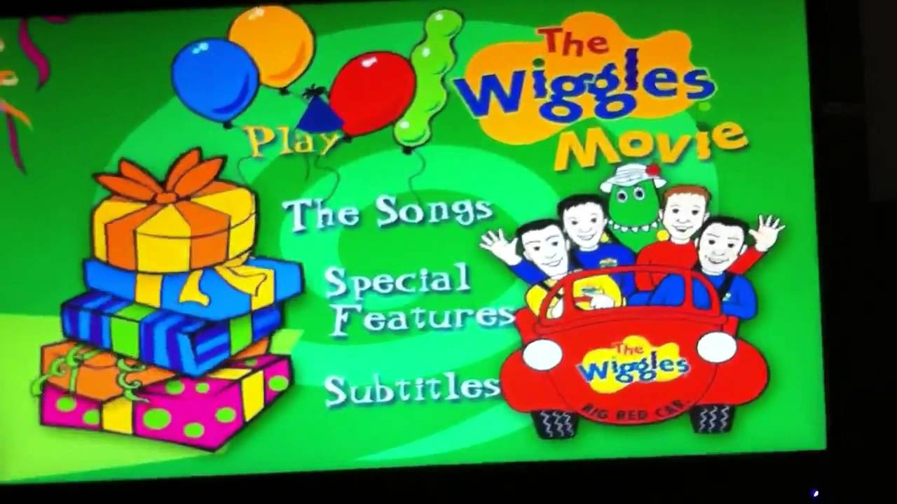 Opening To The Wiggles Movie 1998 DVD