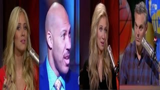 Kristine Leahy says she's getting death threats & wants everyone to stop putting LaVar Ball on TV!