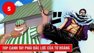 Top 5 cánh tay đắc lực của Tứ Hoàng trong One Piece