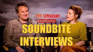 Jason Clarke and Amy Seimetz Reveal How They Made Pet Sematary (2019)