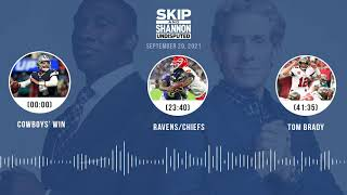 Cowboys' win, Ravens vs Chiefs, Tom Brady | UNDISPUTED audio podcast (9.20.21)