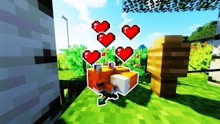Cách Để Thuần Hóa 1 Con Cáo Để Bảo Vệ Nhà Cực Đơn Giản - Minecraft Tutorial