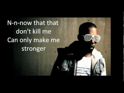 Kanye West Stronger Lyrics