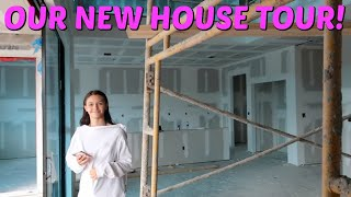 BRAND NEW HOUSE TOUR! ALMOST TIME TO MOVE! EMMA AND ELLIE
