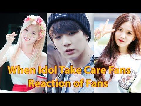 When Idol Take Care Fans - Reaction of Fans | KNET