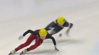 Wang Meng wins Women's 500m in Torino - Universal Sports