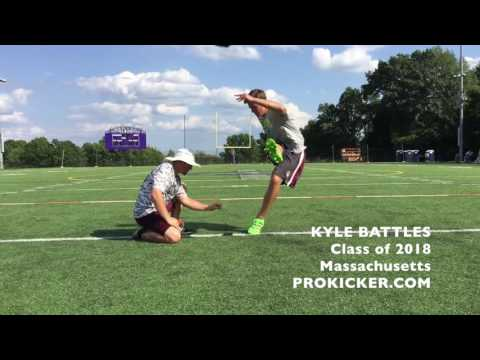 Kyle Battles, Ray Guy Prokicker.com Kicker Punter, Class of 2018
