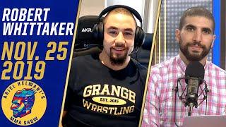 Robert Whittaker on Israel Adesanya fight, wants Darren Till in London | Ariel Helwani's MMA Show