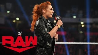 Becky Lynch at the most dangerous point of her career: Raw, Nov. 11, 2019