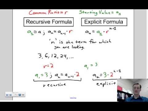2013 Lesson 7.8.2 Recursive and Explicit Formulas for ...