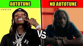 GENIUS INTERVIEWS vs SONGS (AUTOTUNE vs NO AUTOTUNE) (2020 WRAPPED)