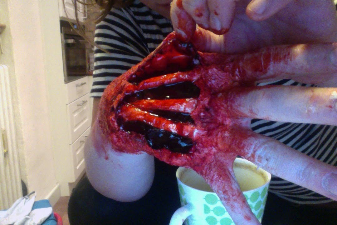 Halloween Make Up Tutorial Special Effects How To Make A