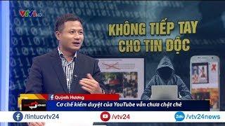Dịch vụ quảng cáo trên Youtube liệu có an toàn với các thương hiệu? | VTV24