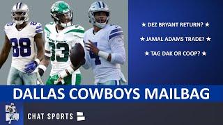 Dallas Cowboys Mailbag: Sign Dez Bryant? Grant Delpit Or Jamal Adams? Dak & Amari Franchise Tags?