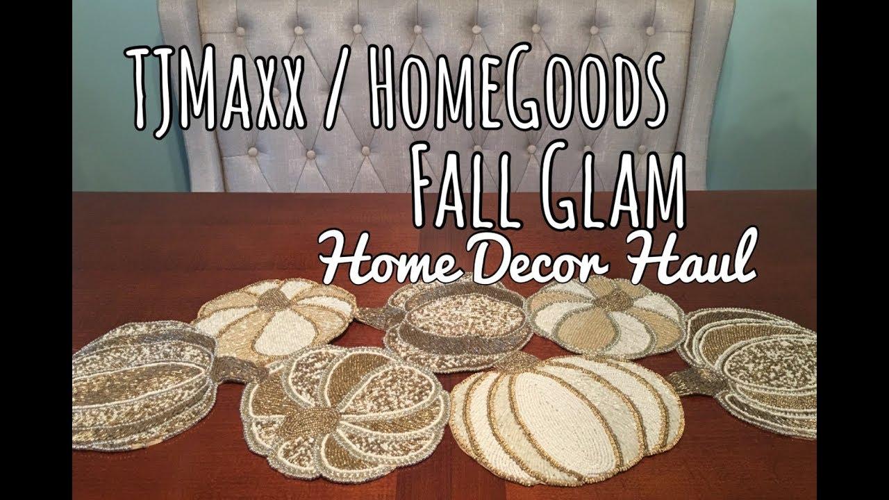 TJMaxx/HomeGoods Fall Glam Home Decor Haul   The Green Notebook