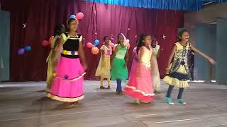 Children dancing for christ the King