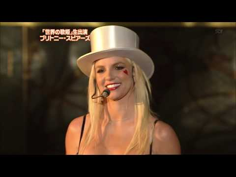 Britney Spears - Womanizer - LIVE NTV Best Artist Japan
