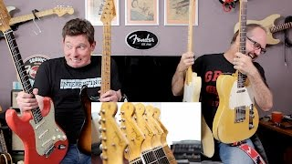 Real Vintage Fenders or our Reissues? Oh dear...