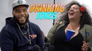Dad Jokes | Kanisha vs. Reedo (Drinking Jokes)