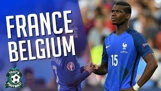 FRANCE vs BELGIUM LIVE Stream Watchalong