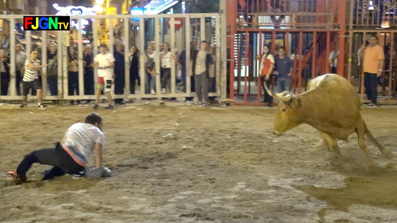Encierro y Vacas - Fira Onda 2017 (Castellon) Bous Al Carrer