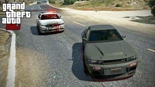 GTA 5 Roleplay - DOJ 213 - Roll Race (Criminal)