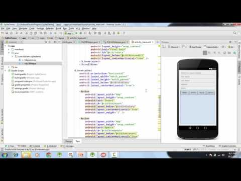 26 - Android SQLite Tutorial, Calling CRUD Operations from UI - Android Studio