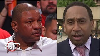 Stephen A. Smith takes responsibility for Doc Rivers' tampering fine | SportsCenter