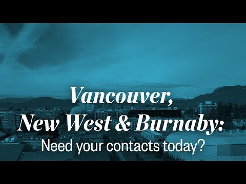 Video: Need contacts ASAP? Clearly is ready when you are