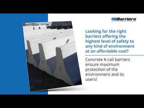 Benefits and Application of K-rail Barriers