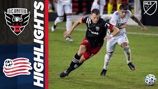 D.C. United vs. New England Revolution | MLS Highlights | September 27, 2020