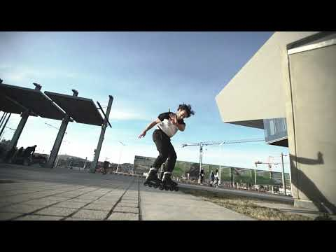 Video FR SKATE Roller freeskate FR1 DELUXE INTUITION Black
