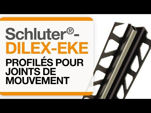 Comment installer un profilé de joint de mouvement dans une aire carrelée : Schluter®-DILEX-EKE