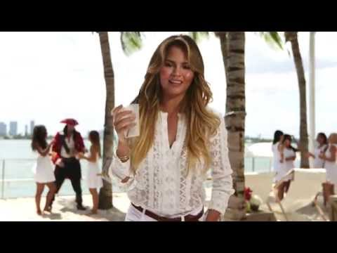 Chrissy Teigen : Three Freaky Facts with Captain Morgan