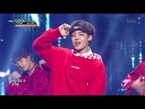 뮤직뱅크 Music Bank - ALL DAY - 훈남쓰(더 유닛) (ALL DAY - Hoonnam's(THE UNI+)).20180119