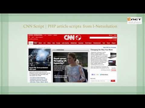 CNN Script by I-Netsolution