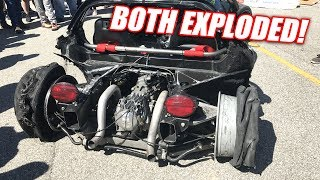 5th Gear, 165mph Burnout EXPLOSION (too far?)
