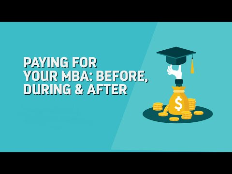Paying for Your MBA: Before, During & After