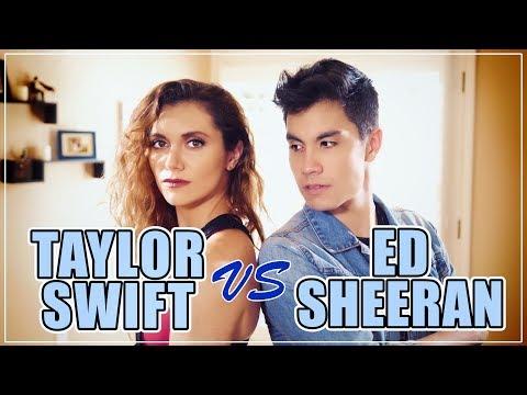 Taylor Swift VS Ed Sheeran MASHUP!! 20 Songs   ft. Alyson Stoner & Sam Tsui