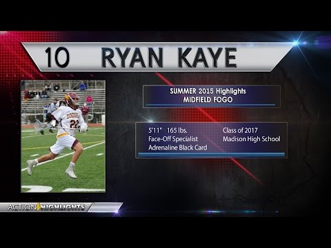 Ryan Kaye Summer 2015 Highlights