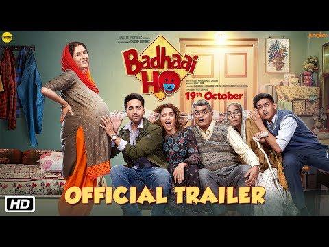 'Badhaai Ho' Official Trailer - Ayushmann Khurrana, Sanya Malhotra