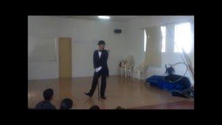 (Luiz Teixeira) - Apresentação de dança individual - Charles Chaplin - UEMG