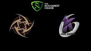 NiP vs KEEN GAMING The Bucharest Minor 2019 Highlights Dota 2