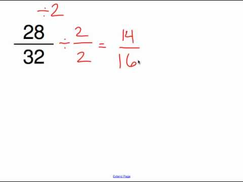 Reducing Fractions to Simplest Form.mp11 / ViewPure