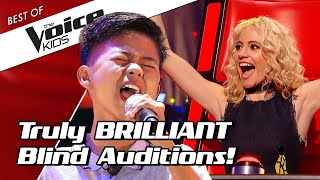 TOP 10   Simply BRILLIANT Blind Auditions in The Voice Kids