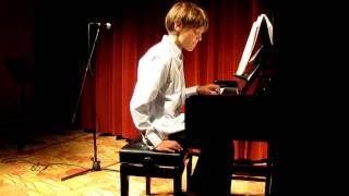 Zachary's Spring 2011 recital