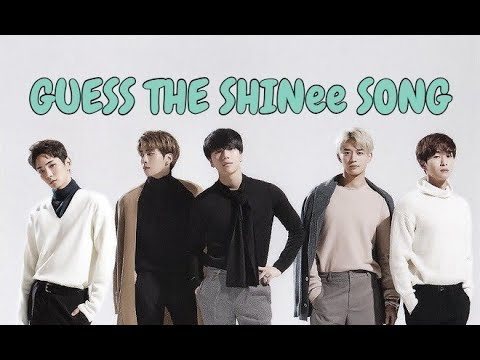Guess the SHINee Song Challenge || EASY ||