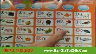 Bảng Chữ Cái,Bảng Chữ Cái Đa Năng,Bảng Chữ Cái Thông Minh Học Tiếng Việt, Học Tiếng Anh