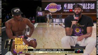 Anthony Davis & Rajon Rondo Joins GameTime - Game 6  | Lakers vs Heat | 2020 NBA Finals