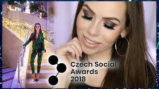 Petra lovelyhair - GRWM NA CZECH SOCIAL AWARDS 2018 S BY PETRA PALETKOU 👍 - Zdroj: